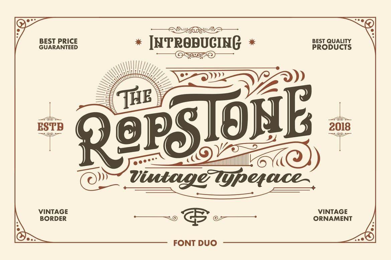 ropstone font