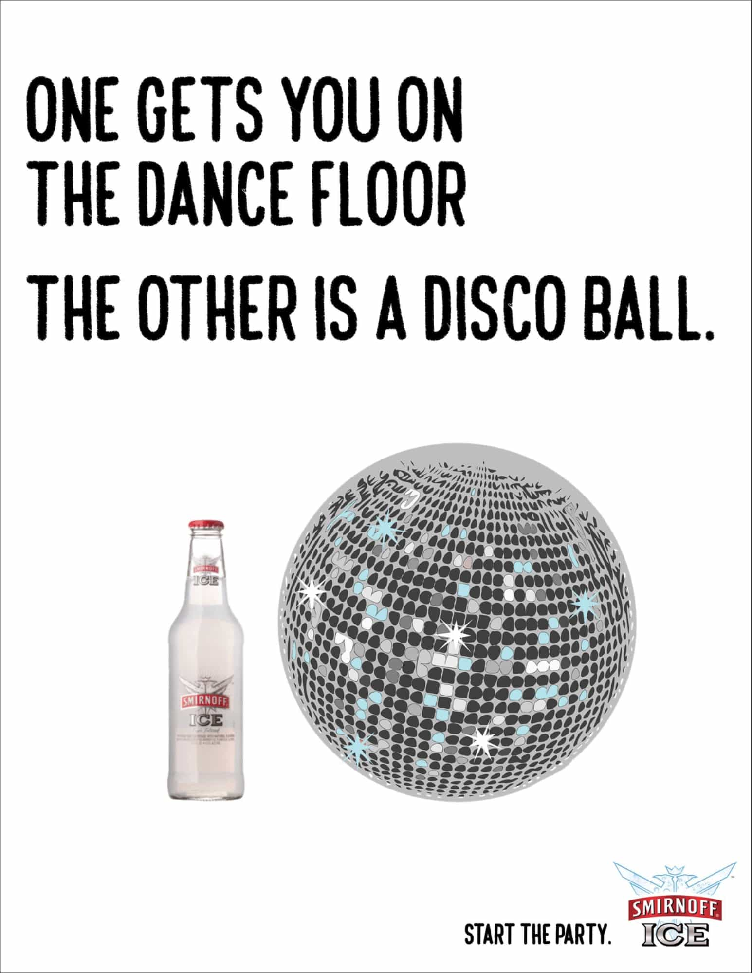 smirnoff disco advertisement