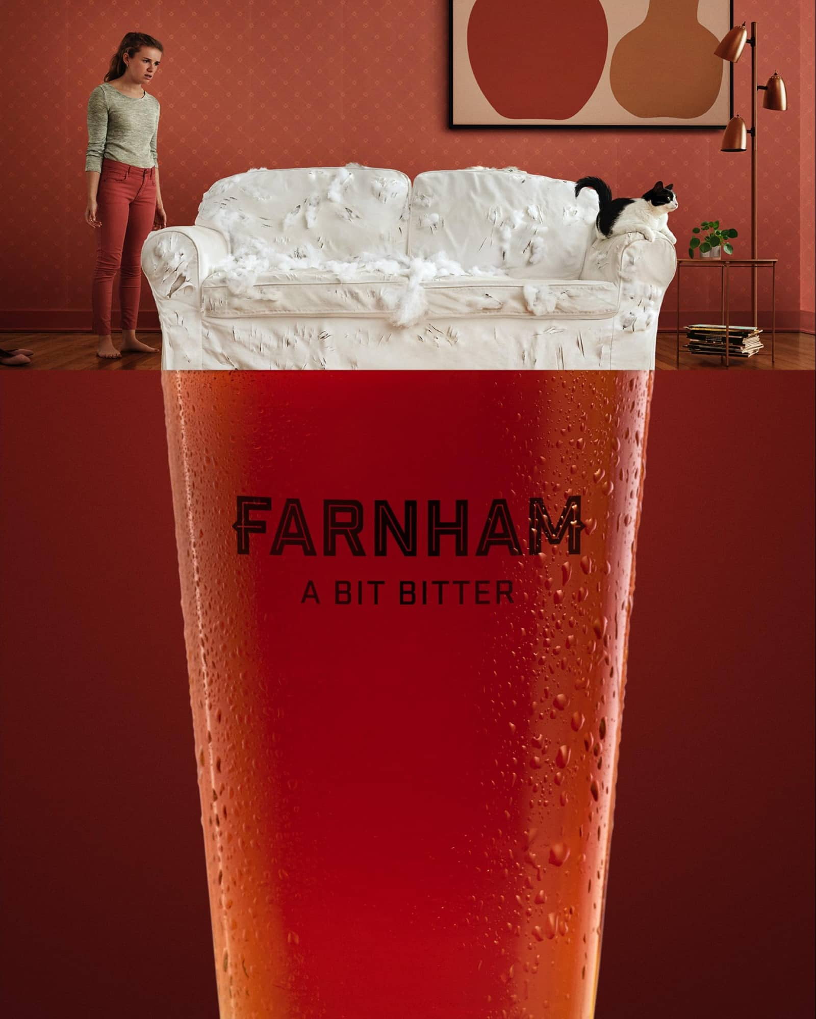 print farnham advertisement example