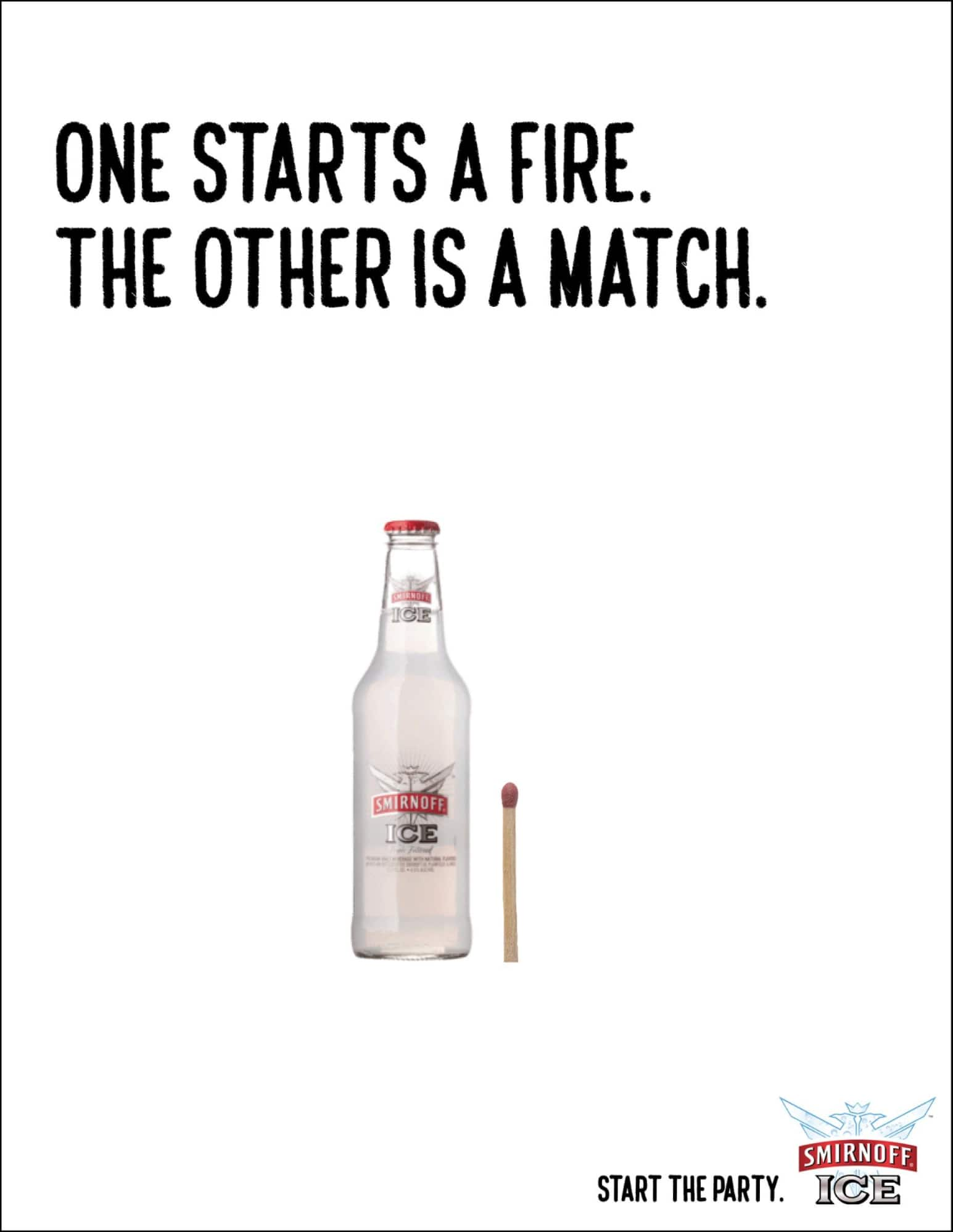 smirnoff ice print advertisement example