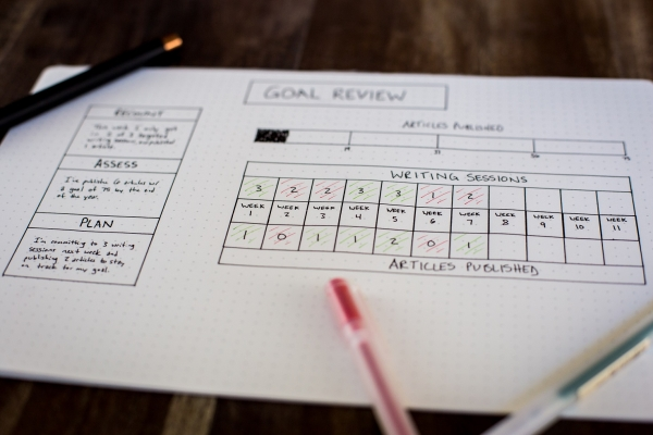 Set goals for creative collaboration success