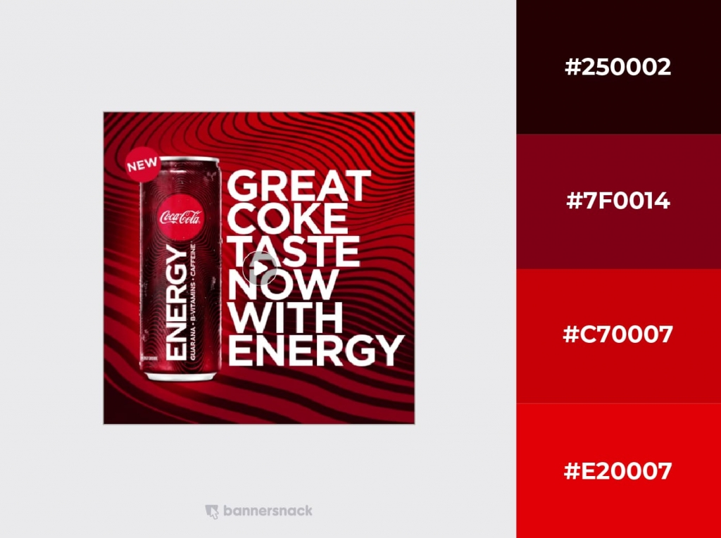 Coca Cola Facebook Design Example