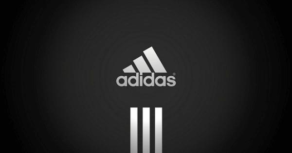 adidas logo example line