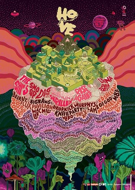 Karl Grandin Music Festival Poster