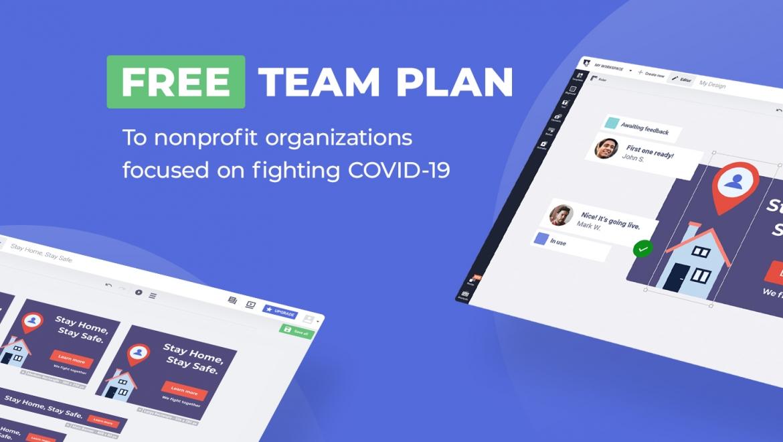free team plan bannersnack