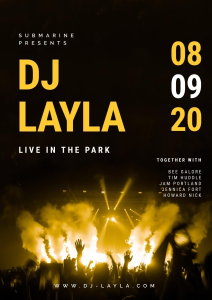 Live Music Park Poster