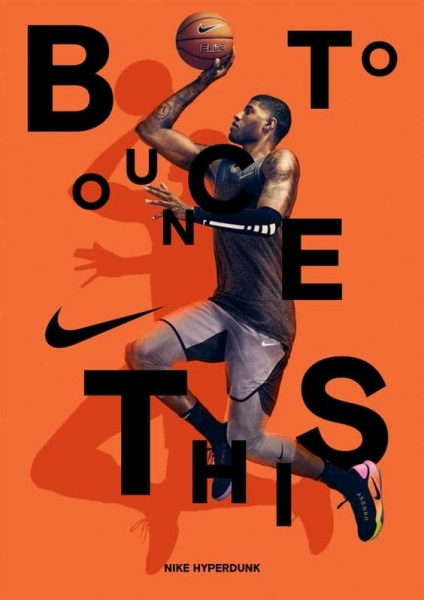 Nike Bounce Dynamic Poster