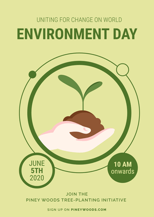 Enviroment Day Celebration Poster