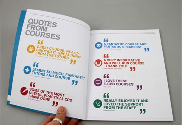 Royal Veterinary College Printed Quotes
