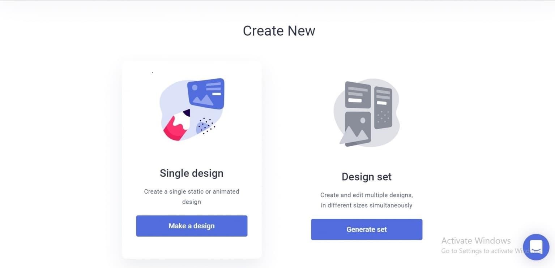 create new bannersnack
