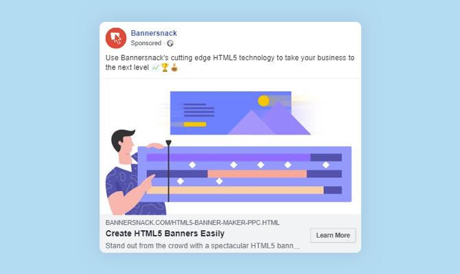 create html5 banners visual