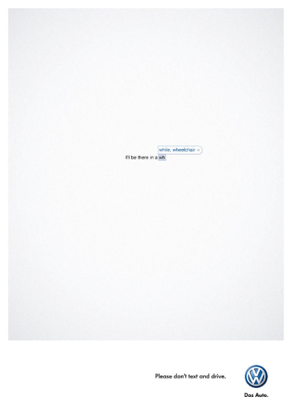 Volkswagen Advertising Example