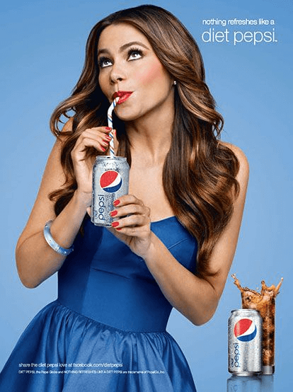 Sofia Vergara For Pepsi Diet