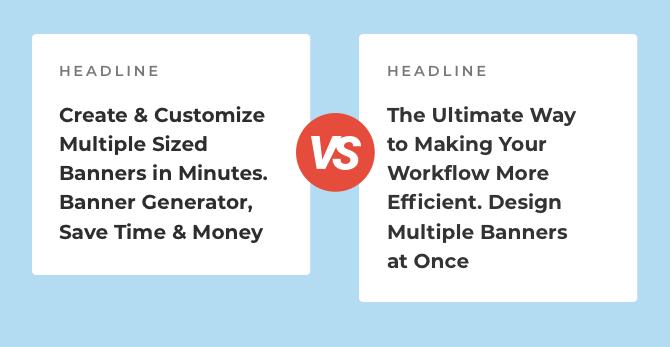 headline comparison bannersnack visual