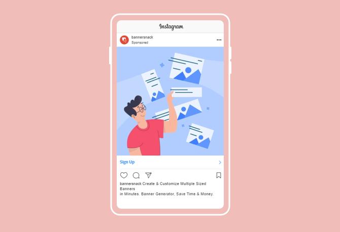 instagram banner generator