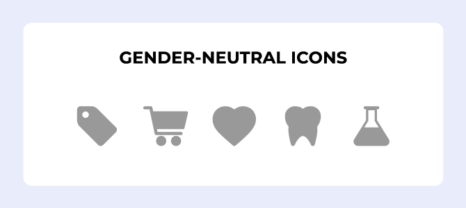 gender neutral icons