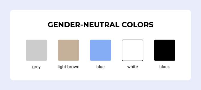 gender neutral colors