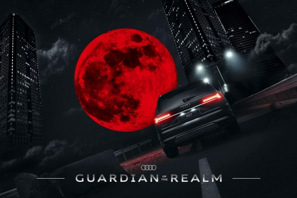 Visual Effects Audi Example