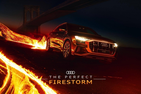 Audi Visual Effect Example