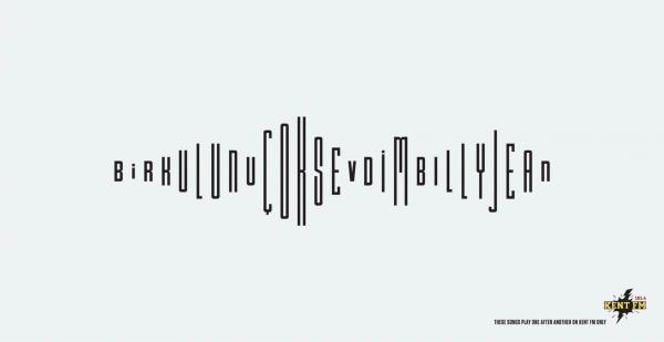 KentFM Visual Typography
