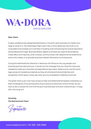 Wa Dora Cover Letter