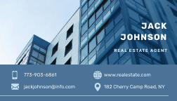 real estate business card-bannersnack.com
