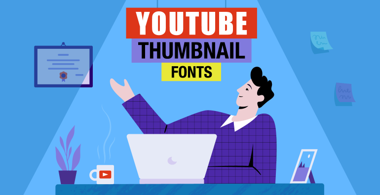 fonts for youtube