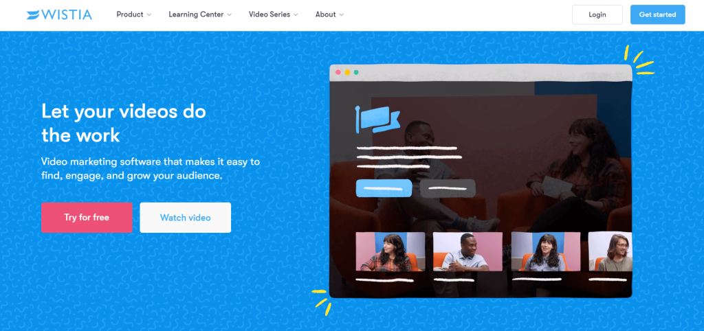 wistia premium video hosting site