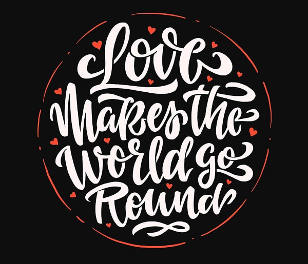 Round-up Typograpghy