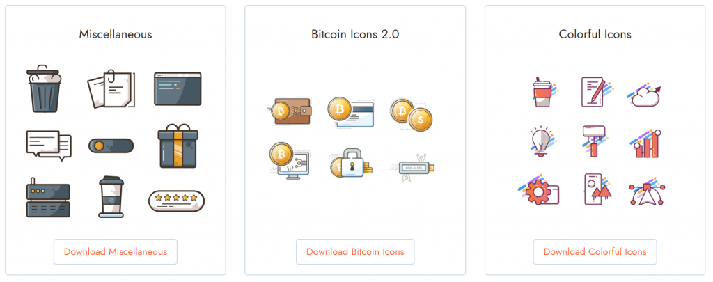 icons by category