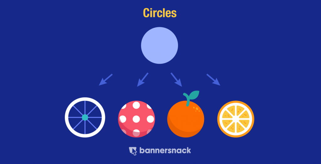 circle geometric shapes