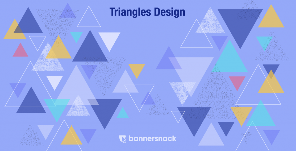 triangle shape design