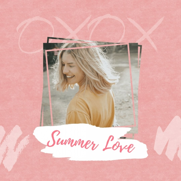 clipping mask example summer love