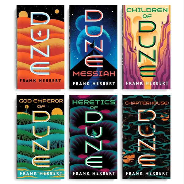 The Dune Series Book Cover