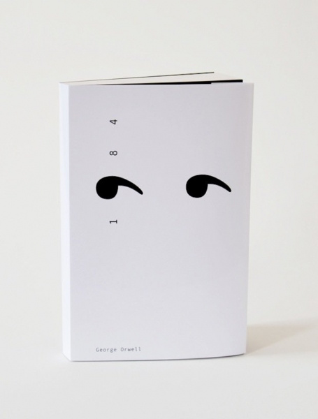 minimalist book covers 1984
