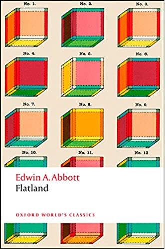 minimalist book covers Flatland