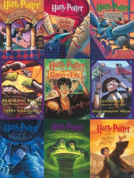 Harry Potter series Book Covers