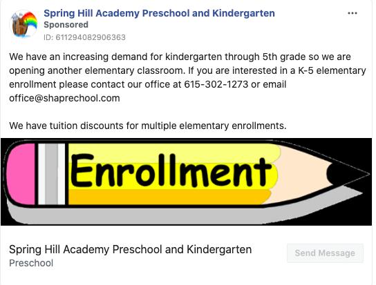 Spring Hill Academy Preschool