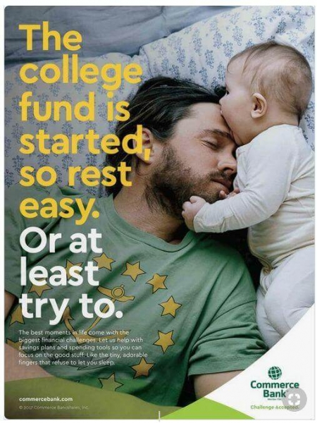 Commerce Bank Ad Example