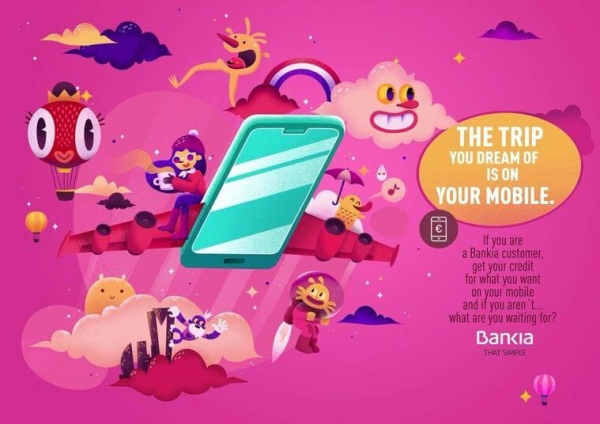 Bankia Ad Example