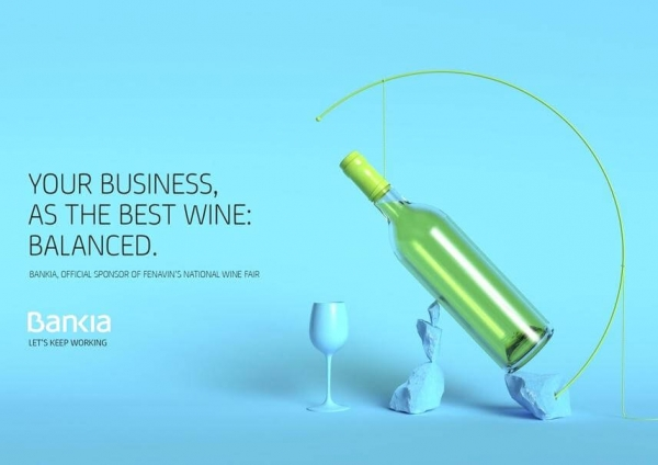 Bankia Bank Business ad example