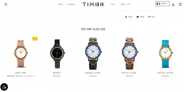 timber personalization ecommerce strategy