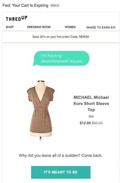 michael kors email ecommerce marketing strategy
