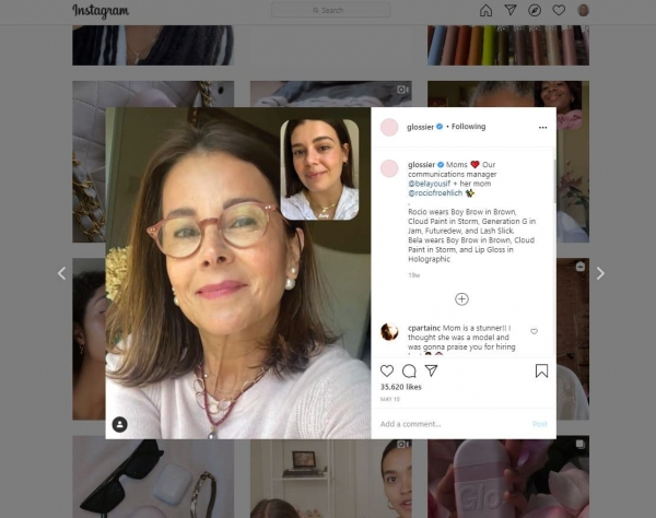 glossier microinfluencer ecommerce marketing strategy