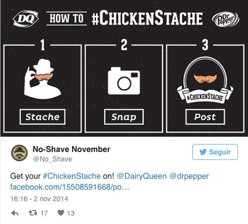 chickenstache movember campaign