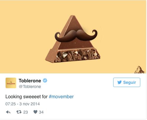 toblerone chocolate movember campaign