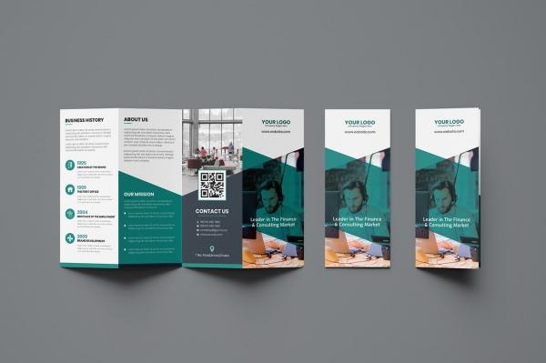 parallel fold brochure design