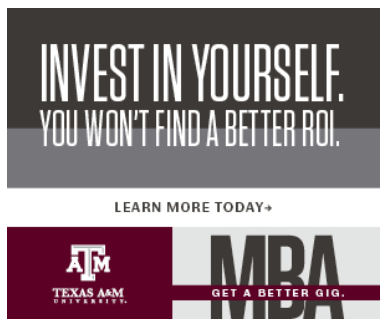 texas a&m school banner design