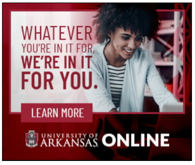 university of arkansas school banner