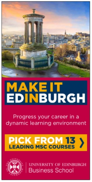 university of edinburgh school banner design